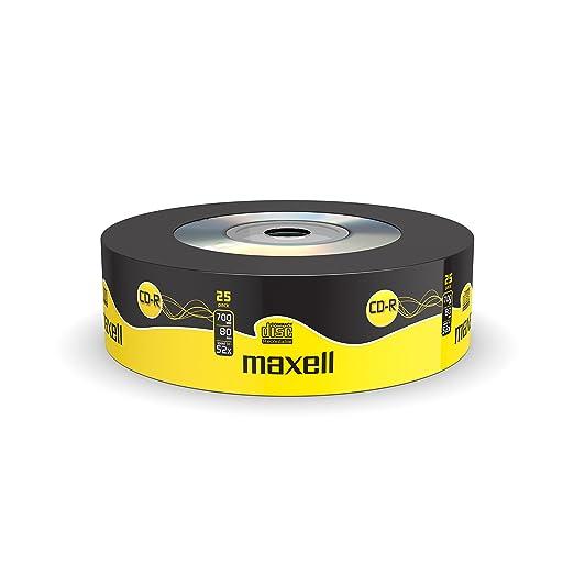 135 opinioni per Maxell CD-R80 XL 700MB- Confezione da 25