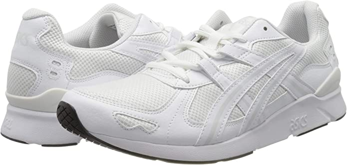 Asics Gel-Lyte Runner 2, Running Shoe Mens, White/White, 46.5 EU: Amazon.es: Zapatos y complementos