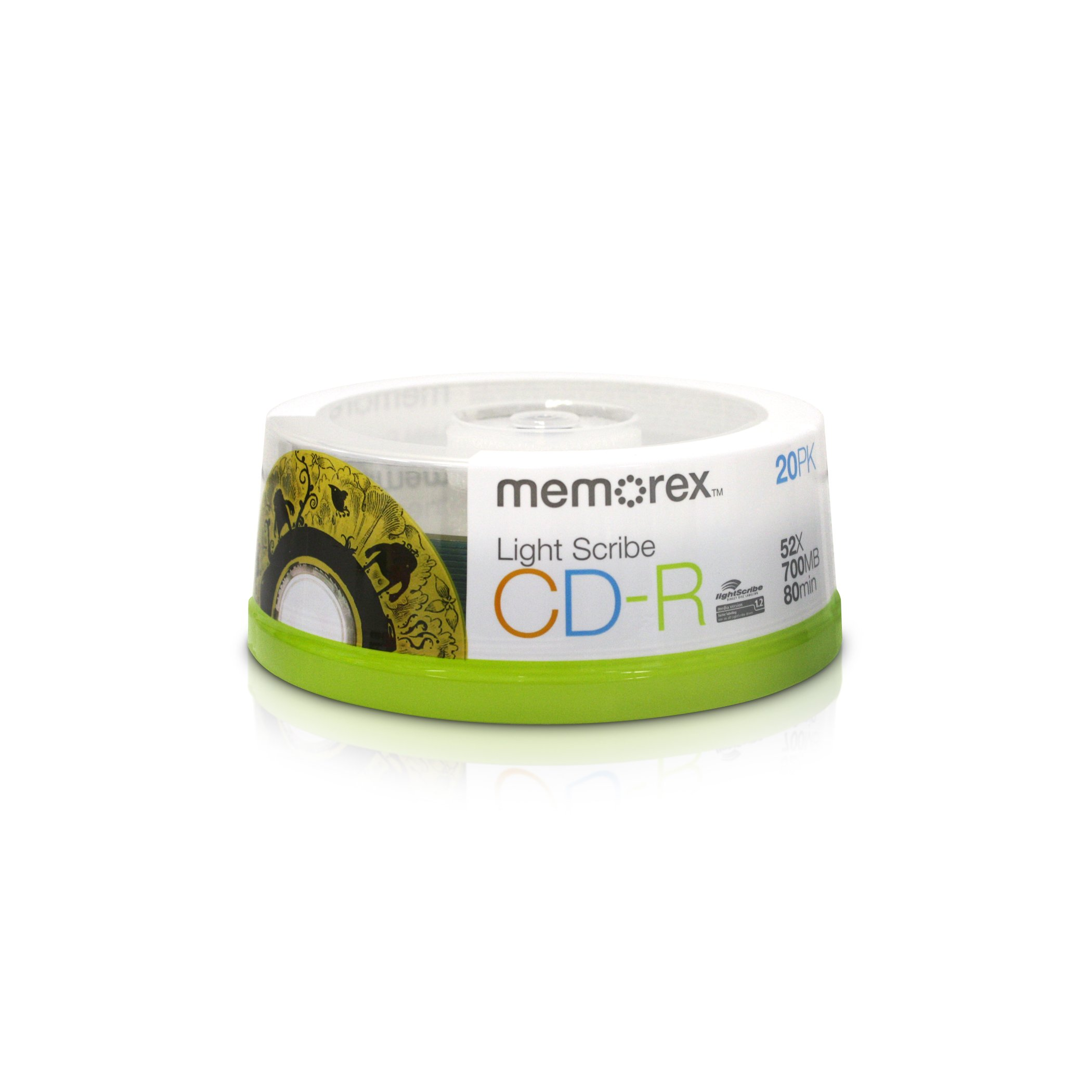 Memorex CDR Light Scribe 20pk (32024732)