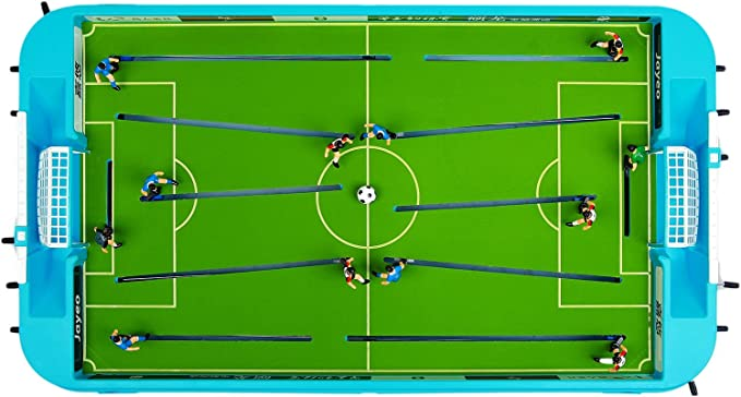 GranVela jayeo mesa Futbolín Juego de fútbol para niños: Amazon.es ...