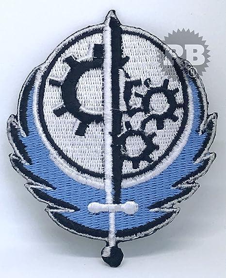 Fallout 4 Game, Hermandad de acero Logo Sew de hierro en ...
