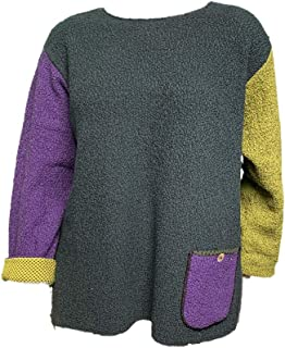 product image for Margaret Winters Pocket Po Sweater - Plus Sizes 1X-2X