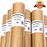 Amsha Butcher Paper Roll 18-Inch x 175-Feet (2100-Inch), Food Grade FDA Approved