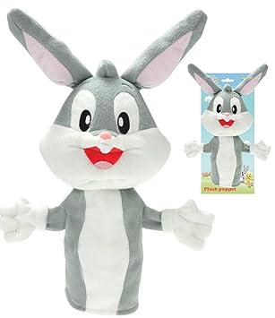 Baby Looney Tunes Bugs Bunny marioneta de peluche 92188: Amazon.es: Juguetes y juegos