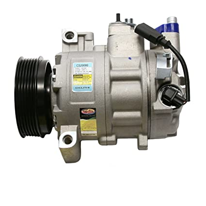Amazon.com: Delphi CS20080 6SEU14 New Air Conditioning Compressor: Automotive