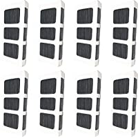 Nispira Air Filter Pleated For Refrigerator, Compatible with Paultra2 ultra 2 Pure Air 5303918847, 8 Filters