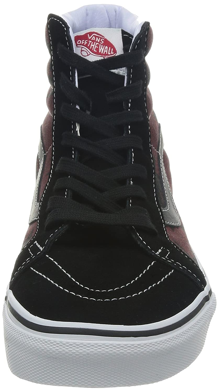 e369a480be3 VANS - Sneakers - Men - Sk8 Hi Van Doren Black Palm Tree Motif for men   Amazon.co.uk  Shoes   Bags