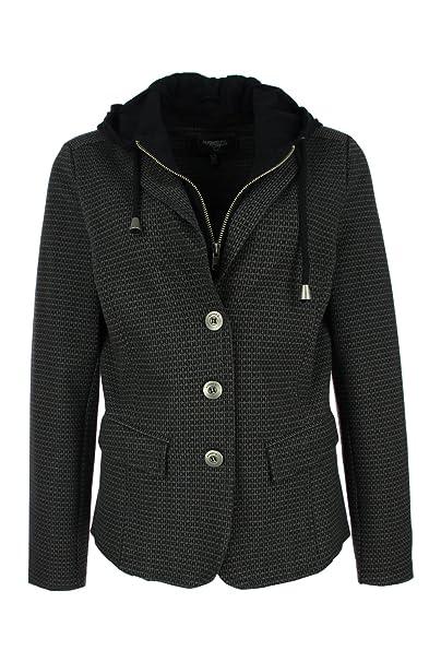 Kenny S - Chaqueta de traje - para mujer gris 40: Amazon.es ...