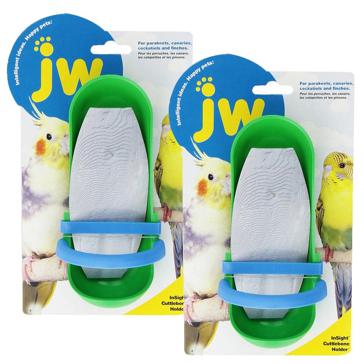 JW Pet Company Insight Cuttlebone Holder, Colors Vary 31313