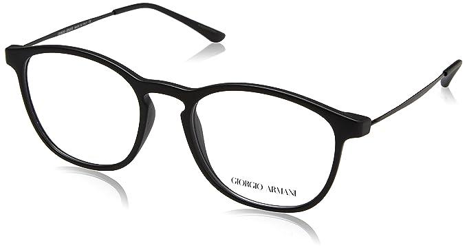 90c505f91809 Giorgio Armani AR7141 Eyeglasses 5042 Matte Black 52-19-145  Amazon.co.uk   Clothing