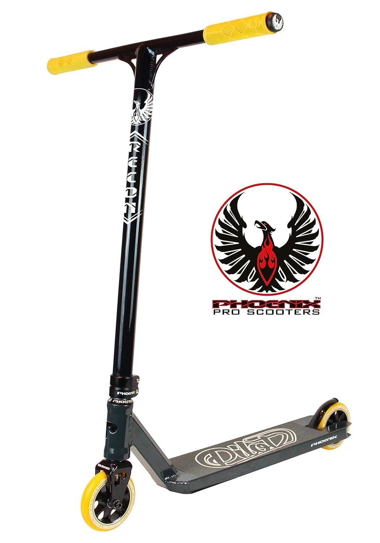 Phoenix Pilot Scooter - Black/Orange Phoenix Pro Scooters