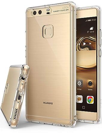 Amazon.com: Ringke FUSION para Huawei P9 Plus, Transparente ...