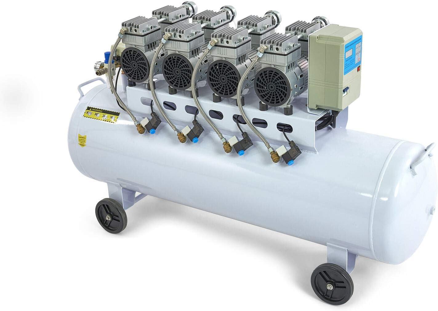 9267 Super Leiser Kompressor Leiseläufer 53 64 Db 200 Liter Kessel Sehr Leise 64 Db 10 Bar Baumarkt