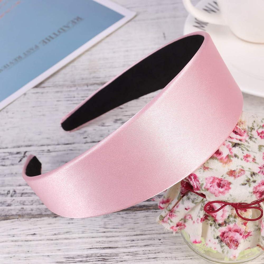 Lurrose 20pcs banda para el cabello de tela diadema de nylon el/ástica de color caqui diadema suave y simple para ni/ñas peque/ñas