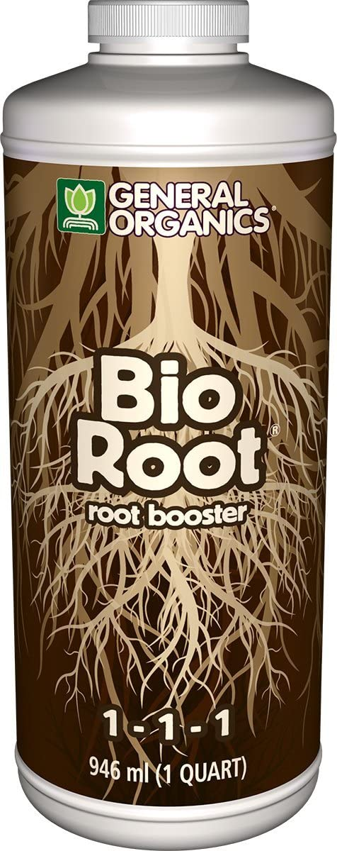 General Organics GH5322 BioRoot Plant Rooting Enhancer, 1 Quart