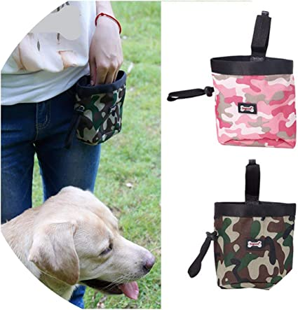 Pet Dog Treat Pouch Obedience Training Bag Portable Outdoor Storage Waist