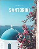 Santorini: A Decorative Book Perfect for Coffee Tables, Bookshelves, Interior Design & Home Staging