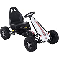 HOMCOM Coche de Pedales Go Kart Racing Deportivo