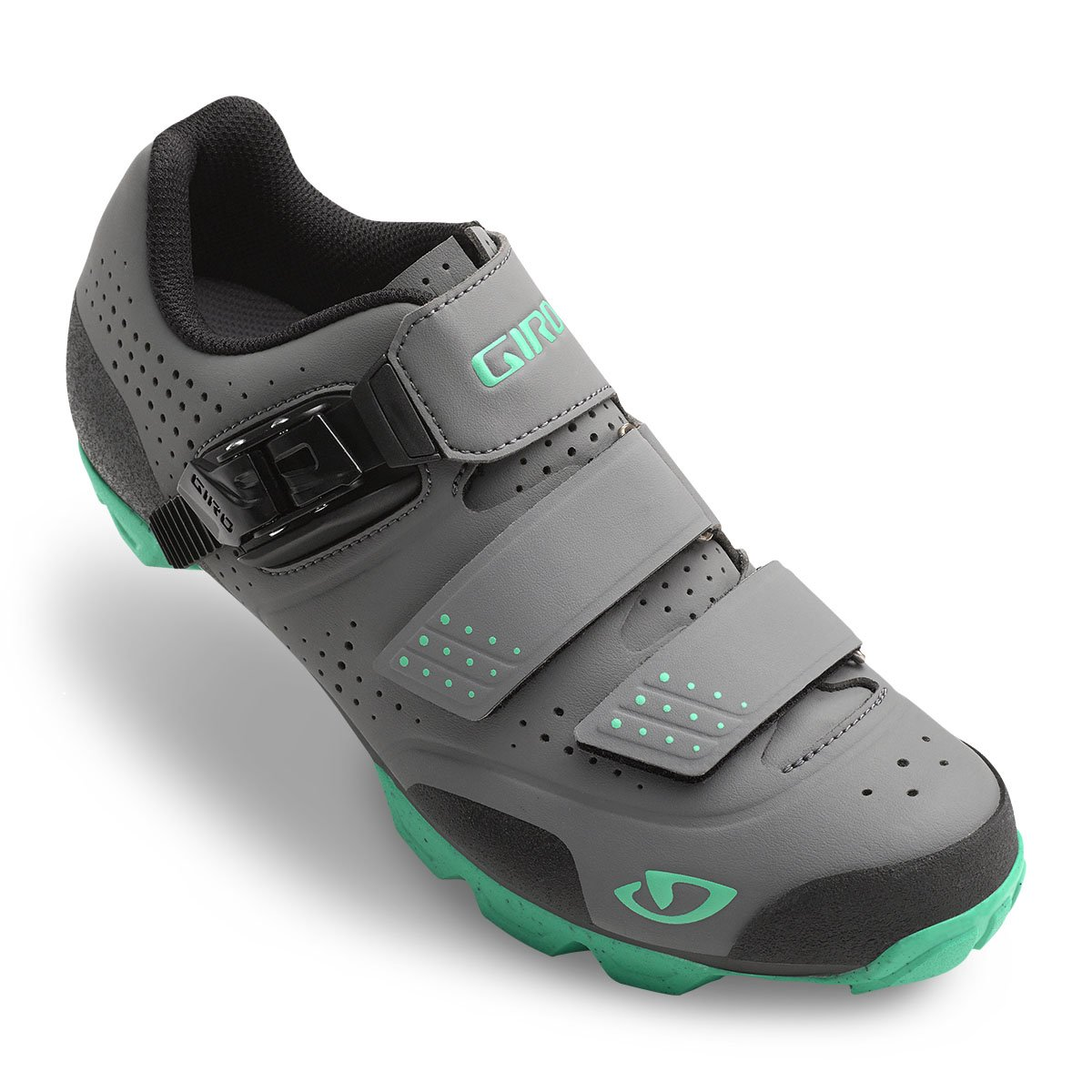 Giro Manta R Cycling Shoes - Women's B015T79ST2 40.5|Charcoal/Turquoise