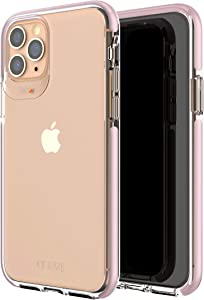 GEAR4 Piccadilly Compatible with iPhone 11 Pro Case, Advanced Impact Protection with Integrated D3O Technology Phone Cover - Rose Gold