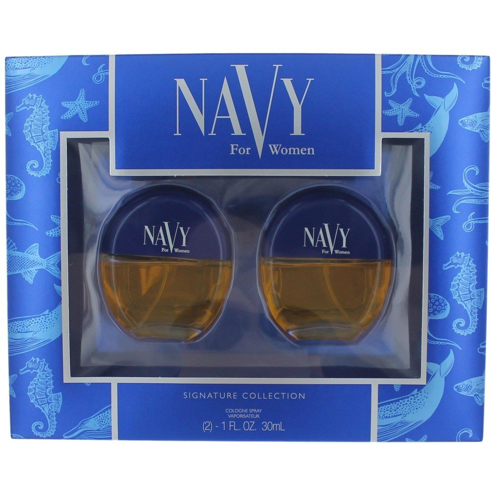 Dana Navy 2 pc. gift set (2 x 1.0 oz cologne spray) for women 16018CV