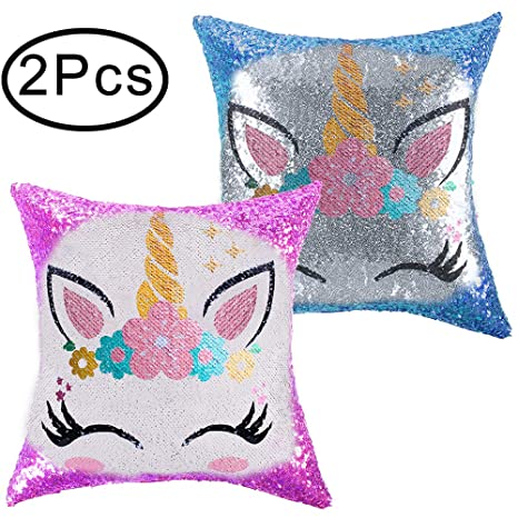 Amazon.com: Standie - 2 almohadas para almohada de unicornio ...