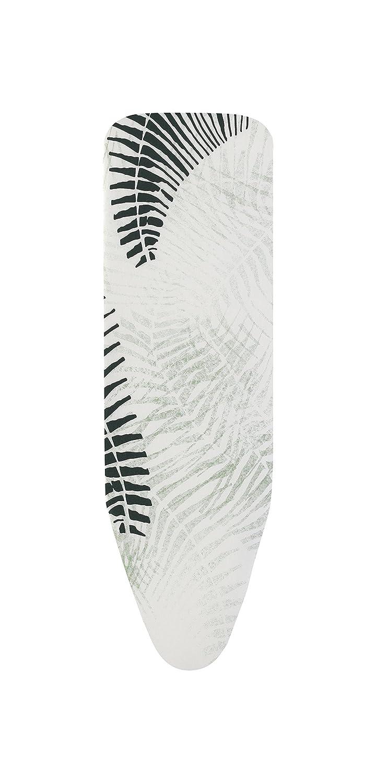 Brabantia Ironing Board Cover A, 110 x 30cm, 2mm Foam, Cotton, Botanical, 0.2 x 30 x 110 cm 118760
