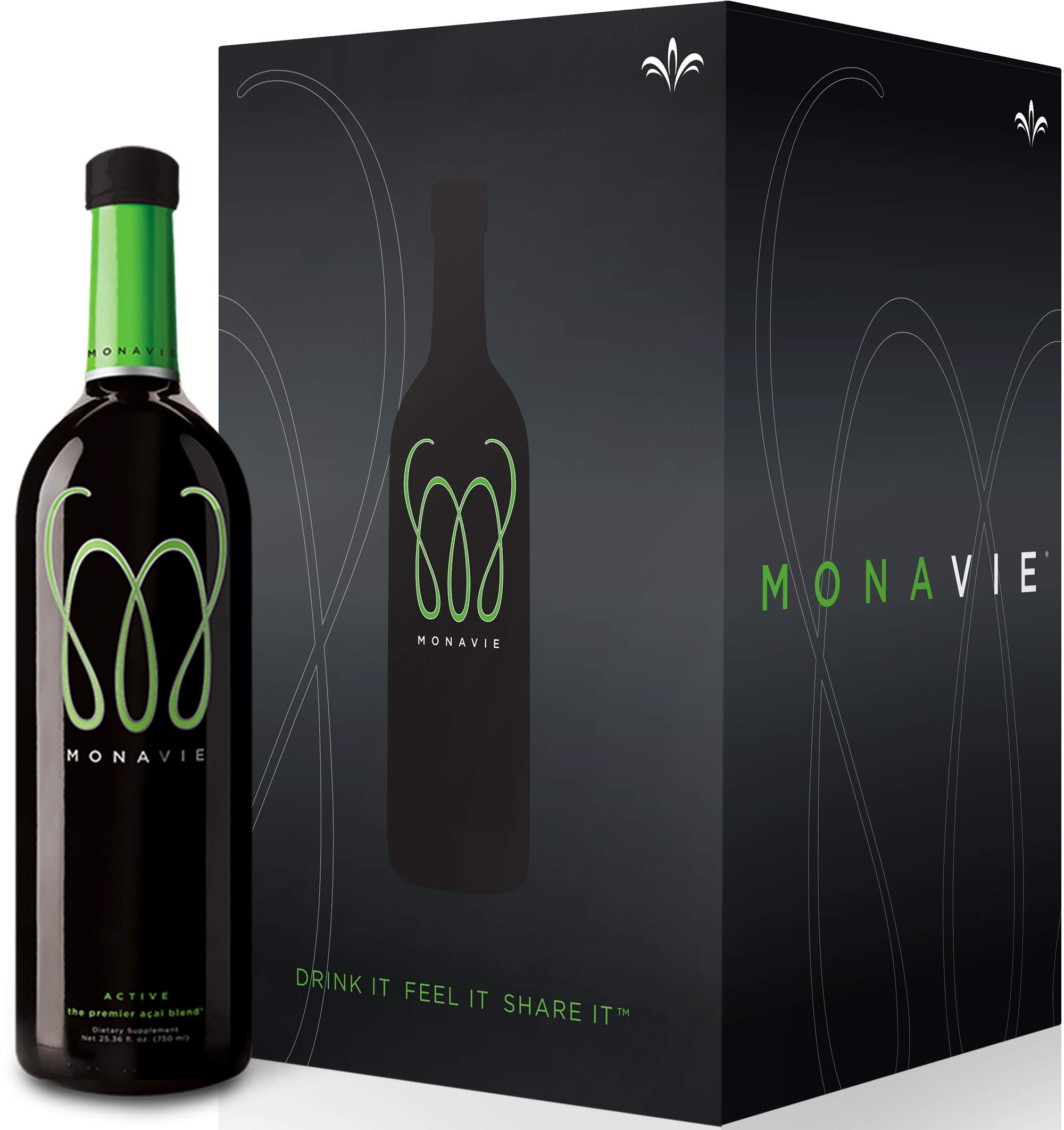 Monavie Active 1 Case 4 Bottles Comes Insured Against Breakage