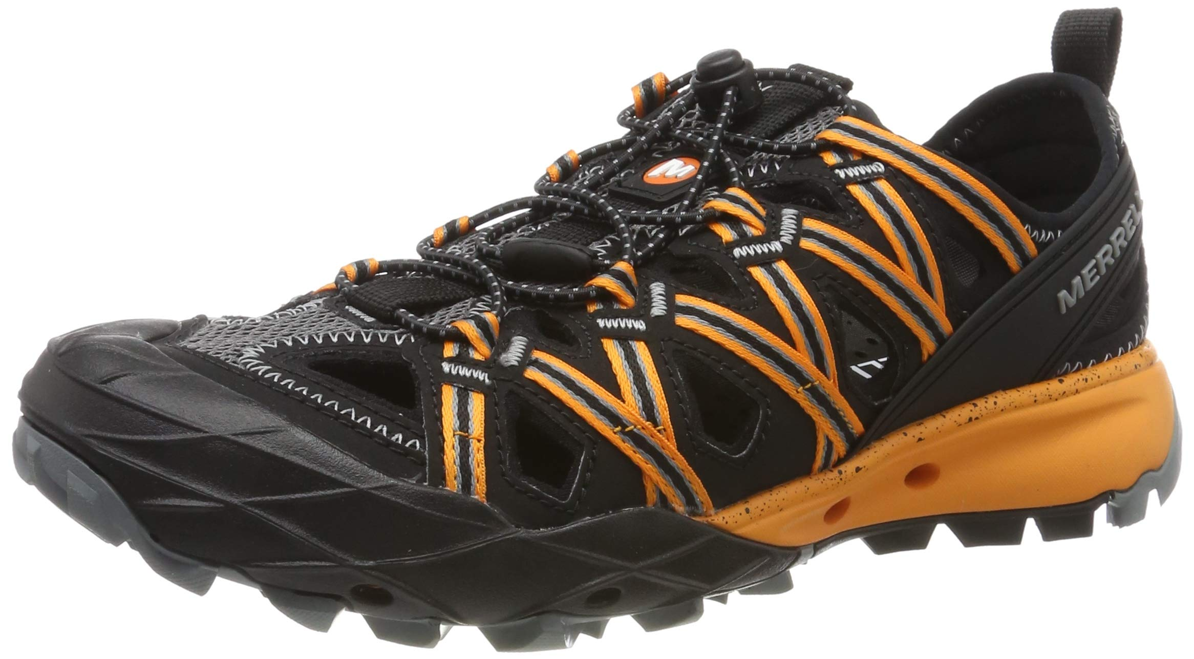 Merrell Men's Choprock Water Shoes, Black Flame Orange, 6.5 (40 EU)