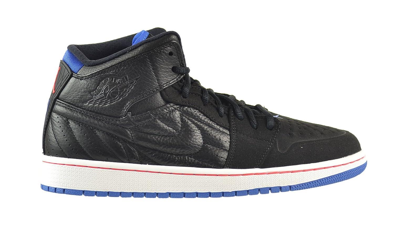 Amazon.com | Air Jordan 1 Retro '99 Men's Shoes Black/Sport Blue-Infrared-White  654140-007 | Basketball