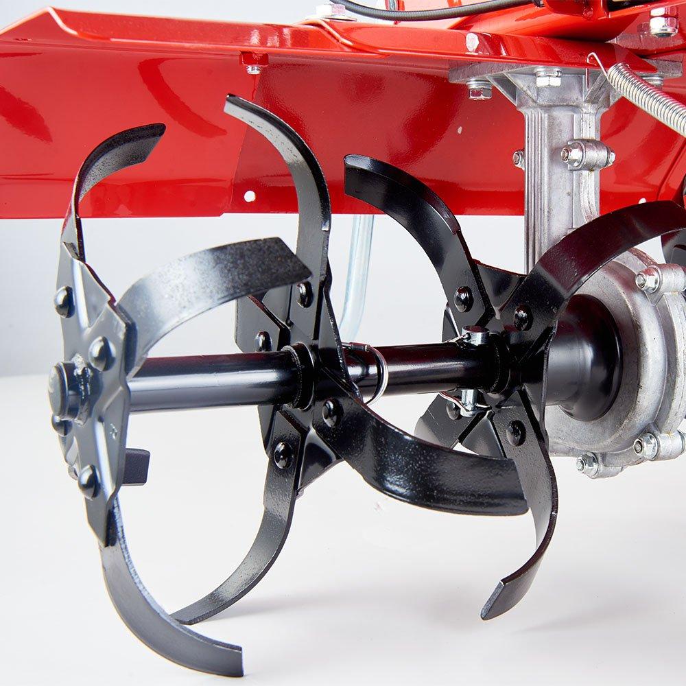 Motoazada de cultivos a gasolina, fresadora motorizada de labranza ...