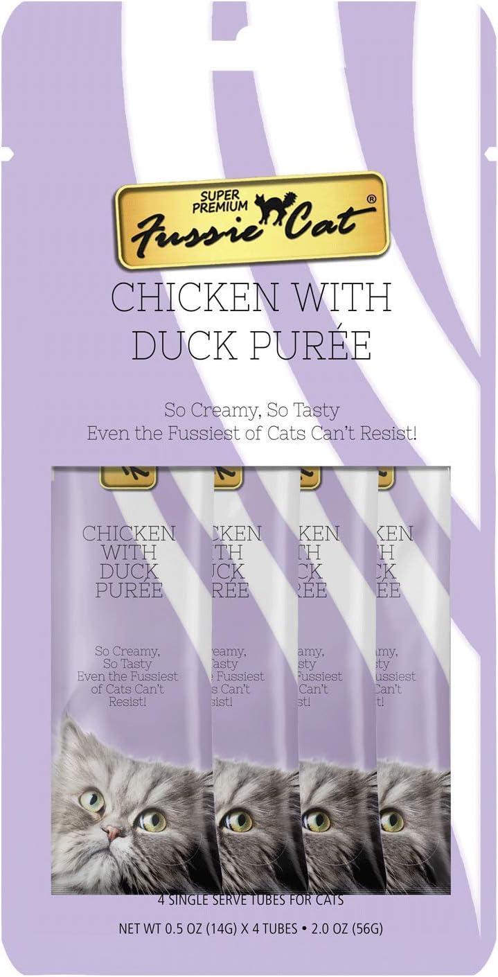 Fussie Cat Chicken with Duck Puree