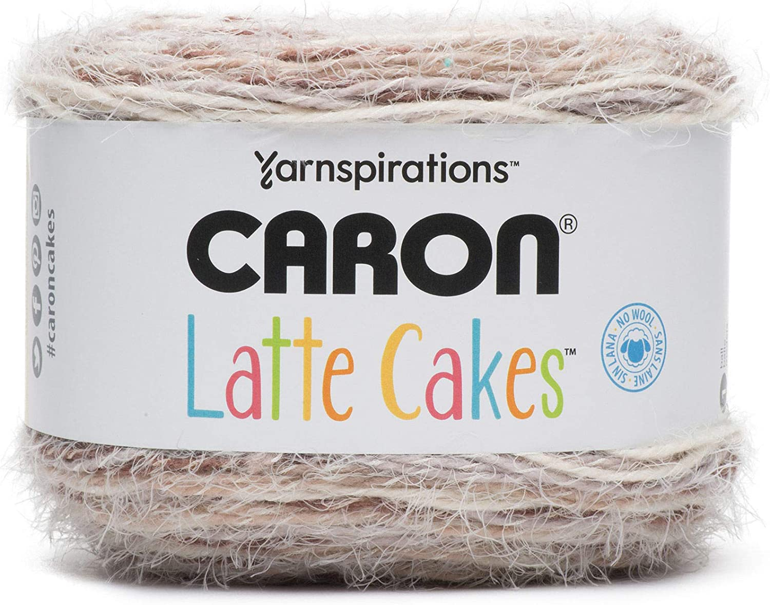 Yarnspirations CARON LATTE CAKES Yarn ~8.8oz~ discontinued~really soft~luxurious