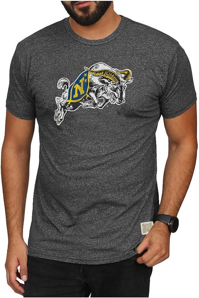 Michigan Wolverines Triblend Vintage Tshirt Gray