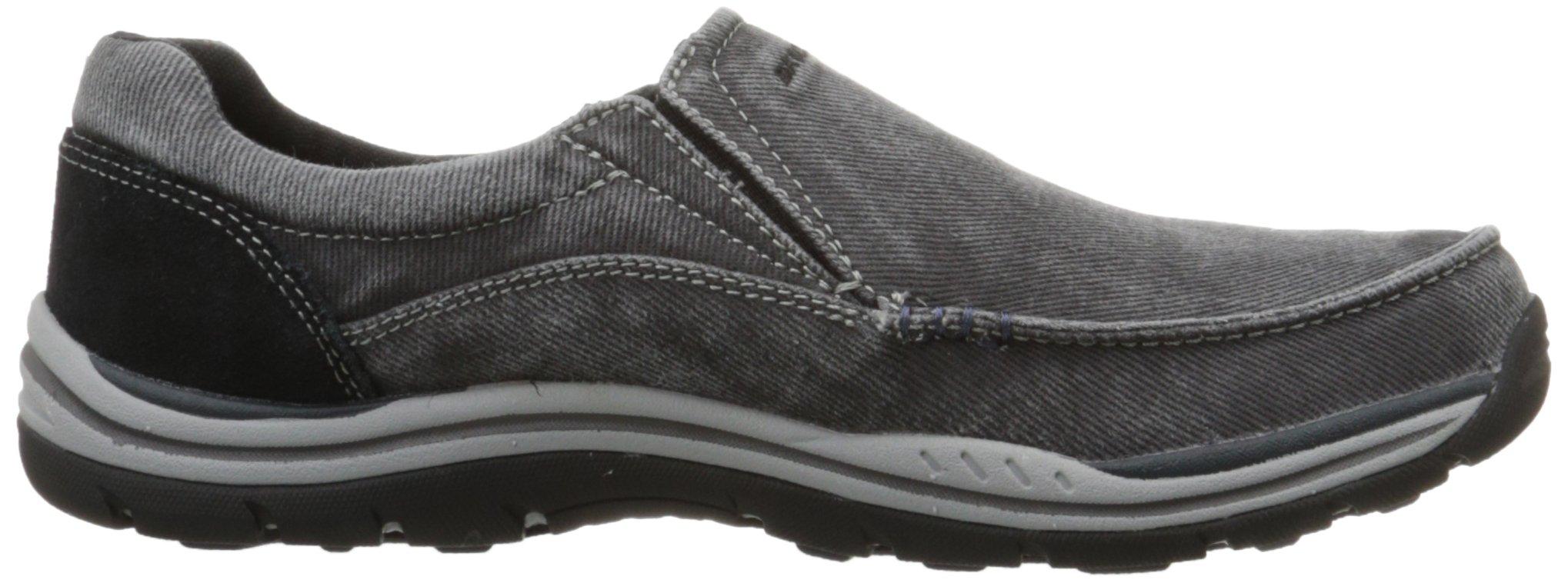 Skechers Men's Expected Avillo Relaxed-Fit Slip-On Loafer,Black,13 M US by Skechers (Image #7)