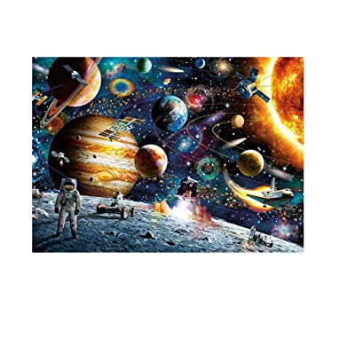 Mysterious Outer Space-1000 Piece Large Puzzle Game, Cool and Challenging Jigsaw Puzzle for Adult or Teenagers by Tuuu (Multicolor): Home Improvement