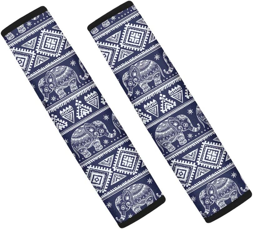 Coloranimal Native Ethnic Stylish Car Seat Belt Covers for Adults Children,Best Gift Funny Shoulder Strap Belts Pad Cushion Rubbing Scratch