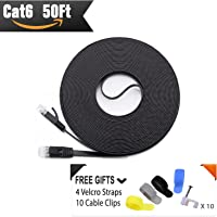 CableMonsta Cat 6 & Cat 7 Flat Ethernet Patch Cables from $5.87