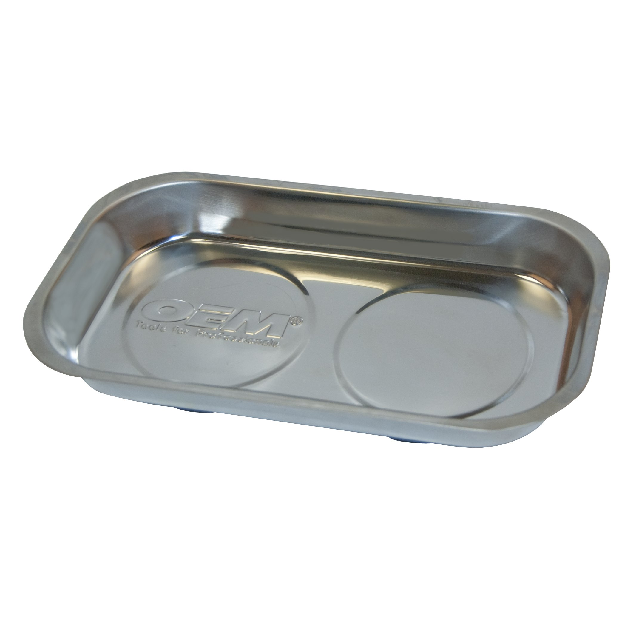 OEMTOOLS 25117C 5 Inch x 9 Inch Rectangular Magnetic Tray in Clamshell