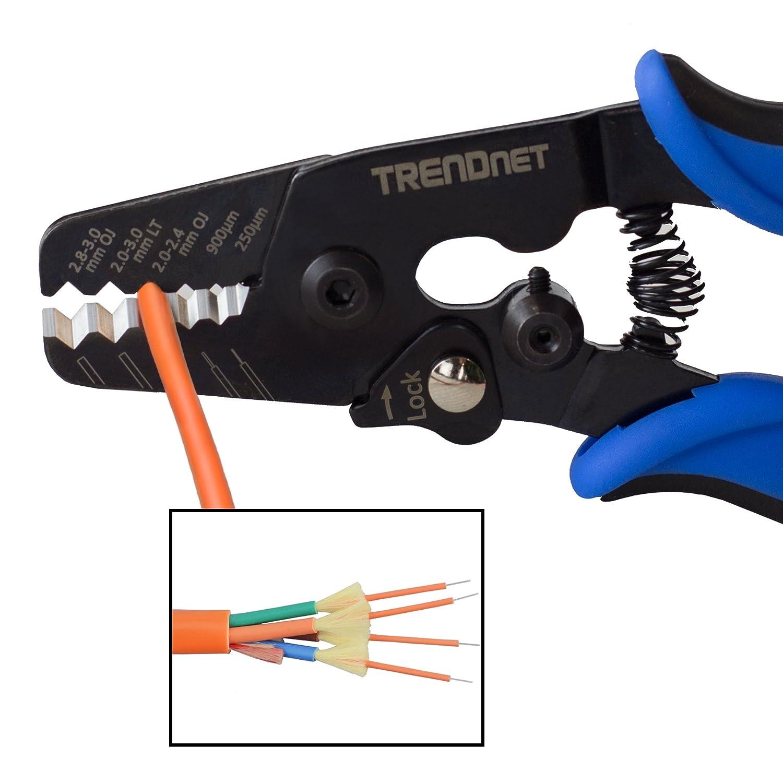 and Strip Tool TRENDnet 8P//RJ-45 and 6P//RJ-12 TC-CT68 RJ-11 Crimp Cut