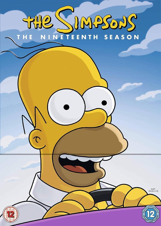 Simpsons The Season 19 Dvd 2019 Amazon Co Uk Dvd Blu Ray