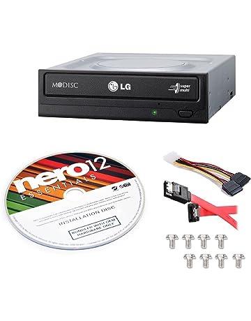 LG Internal 24x Super Multi with M-DISC Support DVD Burner (GH24NSC0B) Bundle