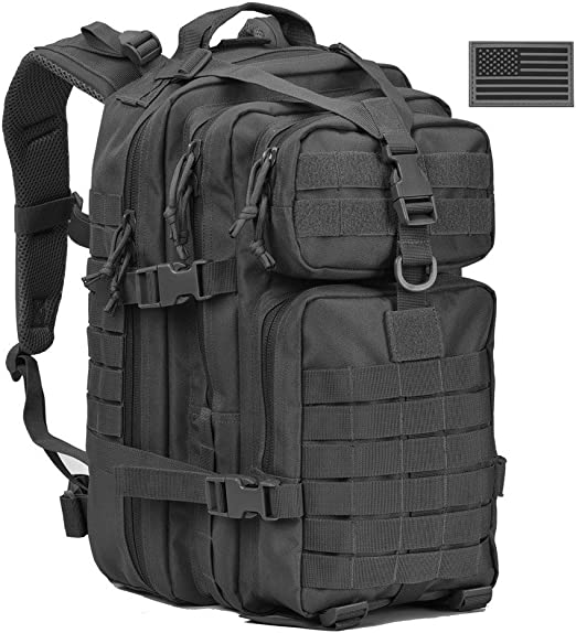 SUPERSUN 35L Military Tactical Backpack Large Waterproof Molle Bug Out Bag Army 3 Day Assault Pack
