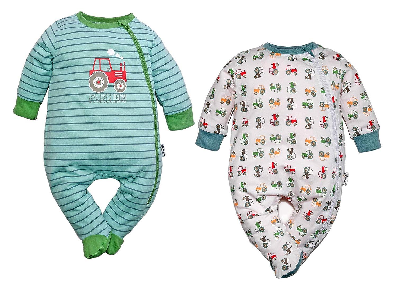 Gelati Baby/Mini Boys Baby Schlafanzug Pyjama 2er pack