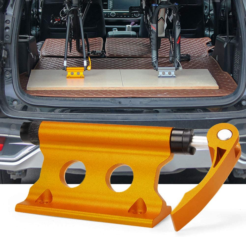 1pc Bicycle Block Aluminum Alloy Fork Mount Holder Pickup Truck Bed Rack Hitch