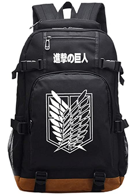 2a8180c23313 Gumstyle Attack on Titan Luminous School Bag College Backpack ...