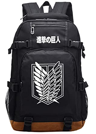 d2fc1d6ae611 Gumstyle Attack on Titan Luminous School Bag College Backpack Bookbags  Student Laptop Bags