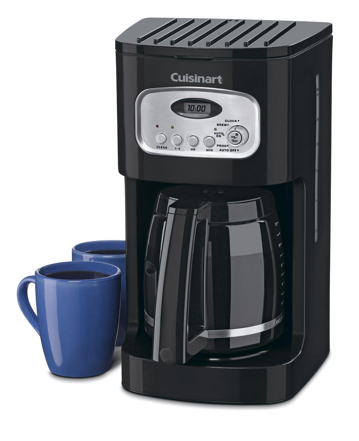 Cuisinart DCC-1100BK 12-Cup Programmable Coffeemaker, Black
