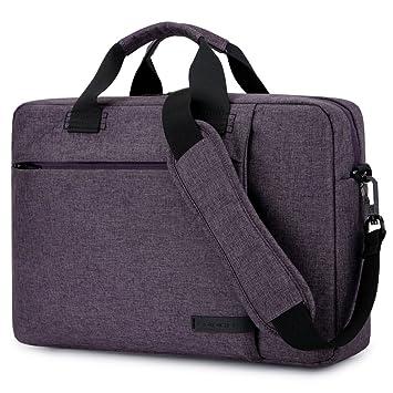 ... brinch elegante tela maletín para portátil Bolsa de hombro Maletín para portátil/Notebook/MacBook/Ultrabook/ordenadores Chromebook morado morado 15, 6 ...
