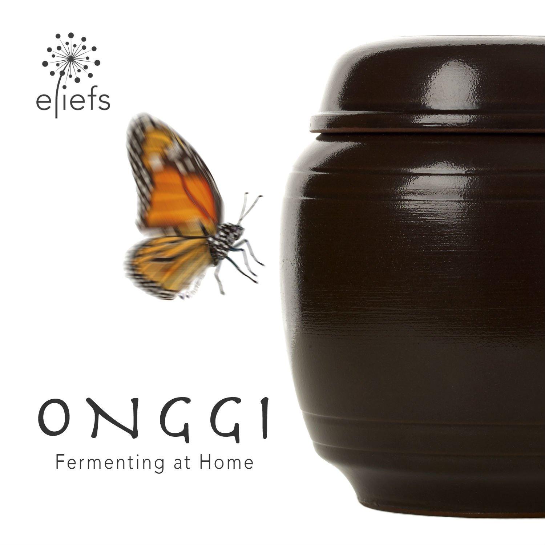eliefs Onggi   Healthier, Superior, Eco-friendly   Premium Fermenting Crock (2 Liter)
